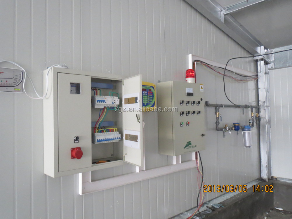 Light type automatic poultry farm design
