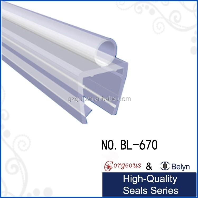 door sweep glass shower door seal buy finishing strip pvc for glass shower door sealcurved shower door seals product on