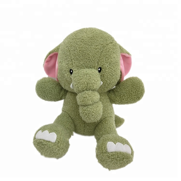 Adorable baby elephant stuffed plush <strong>animal</strong> for gifts