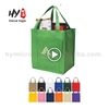 Hot selling colorful non woven shopping tote bag