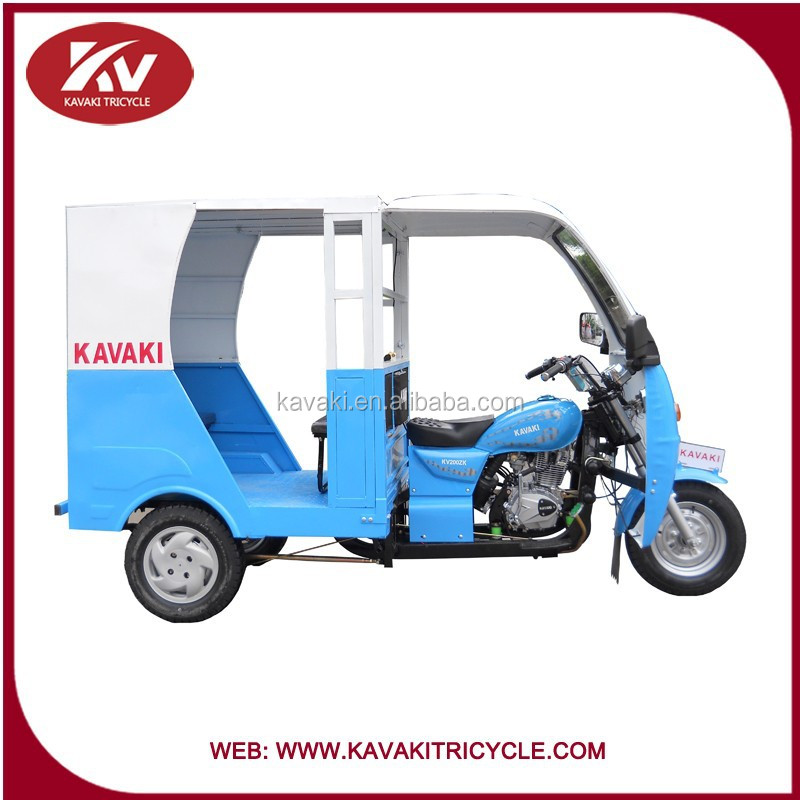 China Kavaki Brand New Products Three Wheel Motorcycle Taxi/taxi ...
