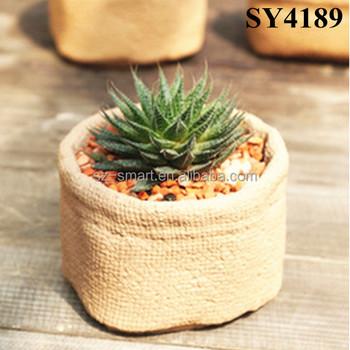 5 Inch Round Ceramic Plant Pots
