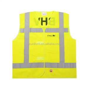 Worker Uniforms Safety Vest Reflective Safety Vest Transportation Construction Vests Safety Protective Clothing