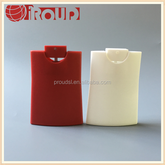 20ml credit card perfume bottle perfume sample spray bottle