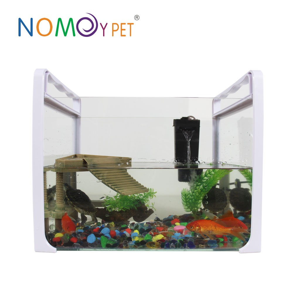 Nomo luxury grow garden aquarium mini flower garden smart for Smart fish tank