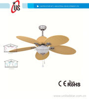 52' Decoration Ceiling Fan Rechargeable Battery Operated Fan With ...