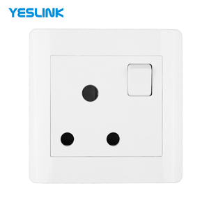 China Supplier White Color 15A 3 Pin Female MK Electrical Wall Switches And Sockets