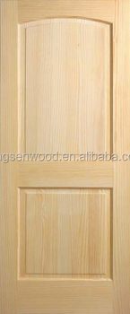 2 Raised Arch Panel Pine Door