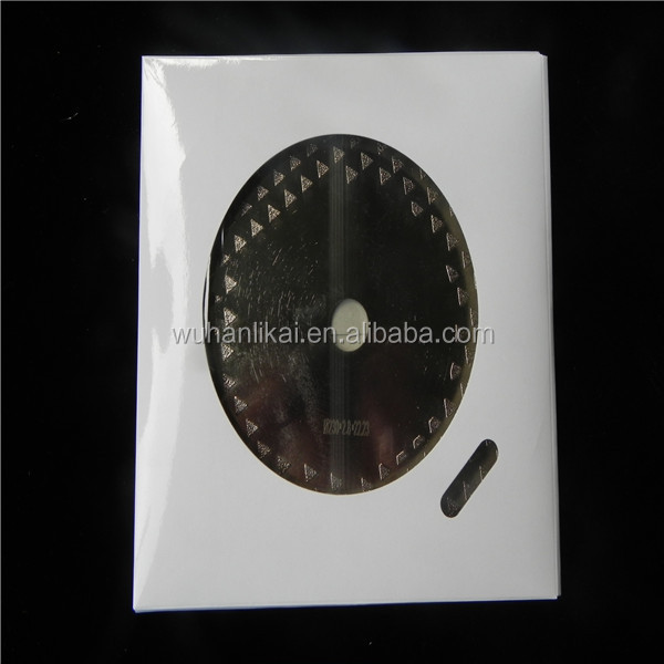180 230 fast cuutting and long life vacuum brazed diamond Saw Blade with flange for stone