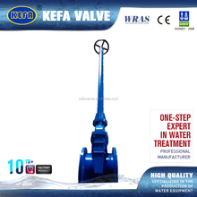 KEFA rising stem pn16 cast iron flanged gate valve manufacturers