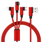 3-in-1 Multiple USB Charging Cables for Micro for Type C for ipad