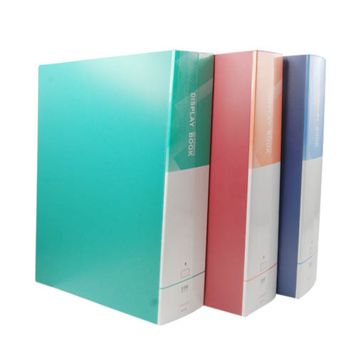 Hot A4 Display Book Documents Storage Portfolio Ring Binder 100 Pockets Presentation Folder Office And Stationary