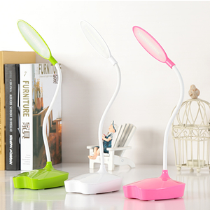 Mini Cute Dimmable reading lamp LED Rechargeable table lamp