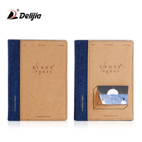 Notebook custom eco kraft paper small school exercise note book for student
