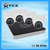 High cost performance 4CH POE CCTV NVR Kit