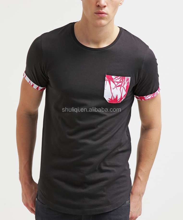 Plain high quality pima cotton blank t shirts with for Plain t shirts to print on