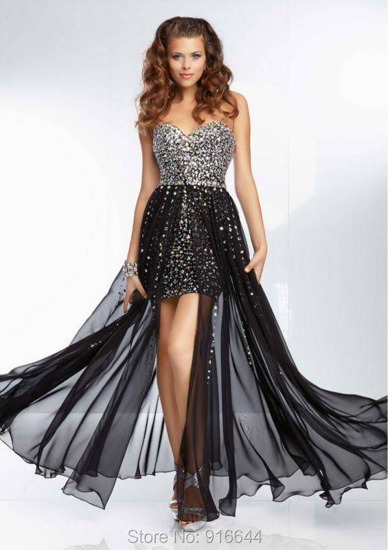 80149d413a Vestidos de fiesta largos en velo - Vestidos formales