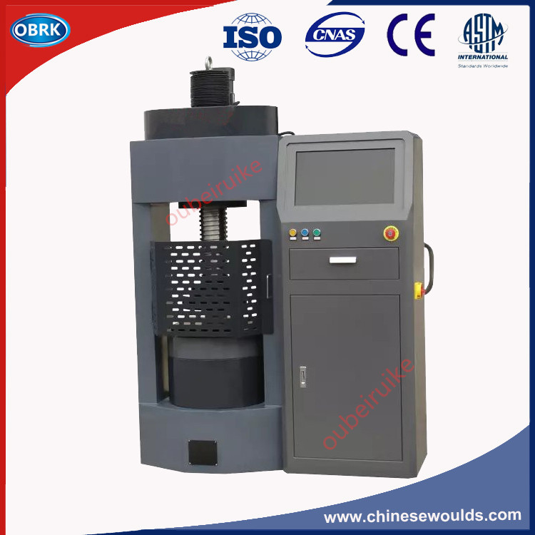 DYE-2000KN/200T Microcomputer Controlled Electro-Hydraulic Servo Cement Concrete Rock Compression Testing Machine