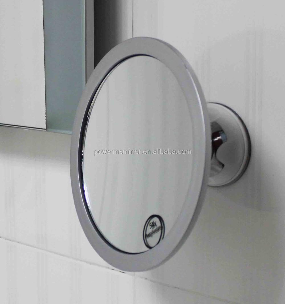 fogless shower mirror for shaving bathroom fog free mirror wall sucked