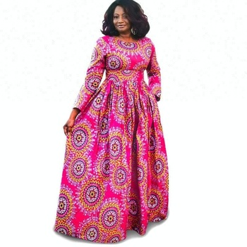 Oem African Dress Styles For Weddings Wholesale Women Long Sleeve