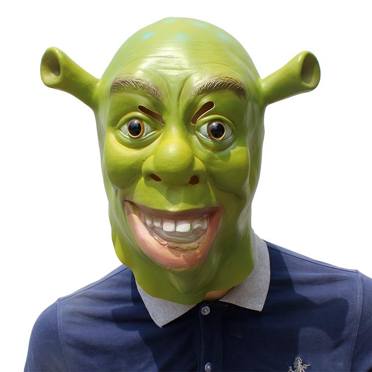 Shrek Stile Maschera In Lattice Di Halloween Rave Party Costume Decorazioni