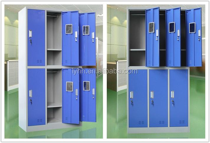 Metalen Opbergkasten Garage : 6 deur goedkope garderobe kast metalen garage opbergkast werk
