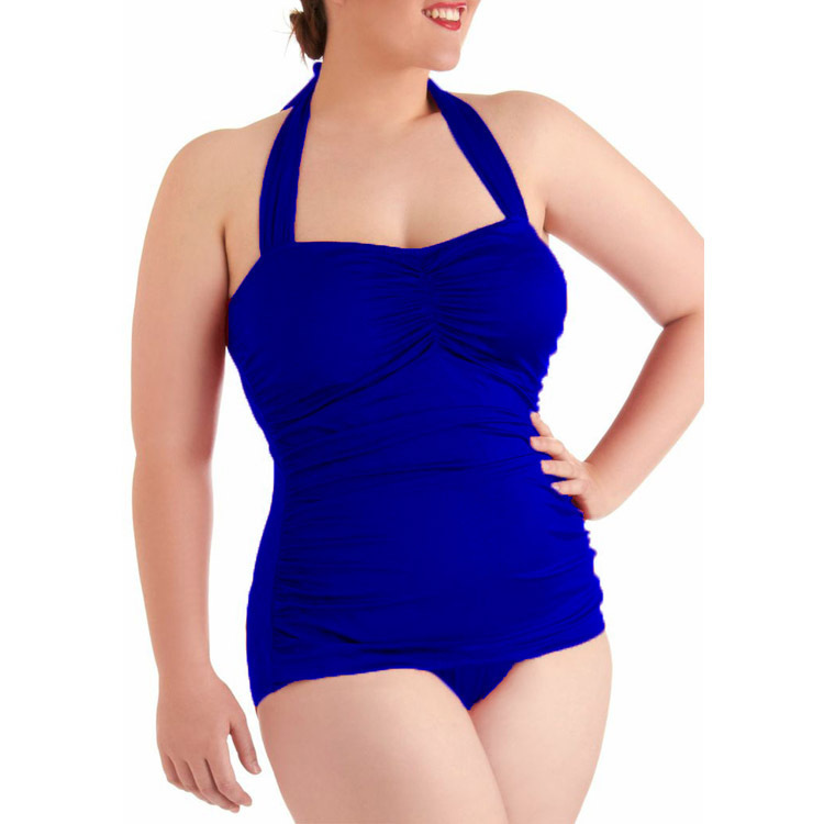 c3b1c5e8ce9 Get Quotations · One Pieces Maternity Swimsuit Swimwear For Pregnant Women  For fat woman Solid High Elasticity Wireless Swimsuits