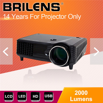 Large scale full hd 2000 lumens industrial projector