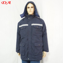 Winter Hi Vis Reflective Tape Safety Thickness Workwear Coats
