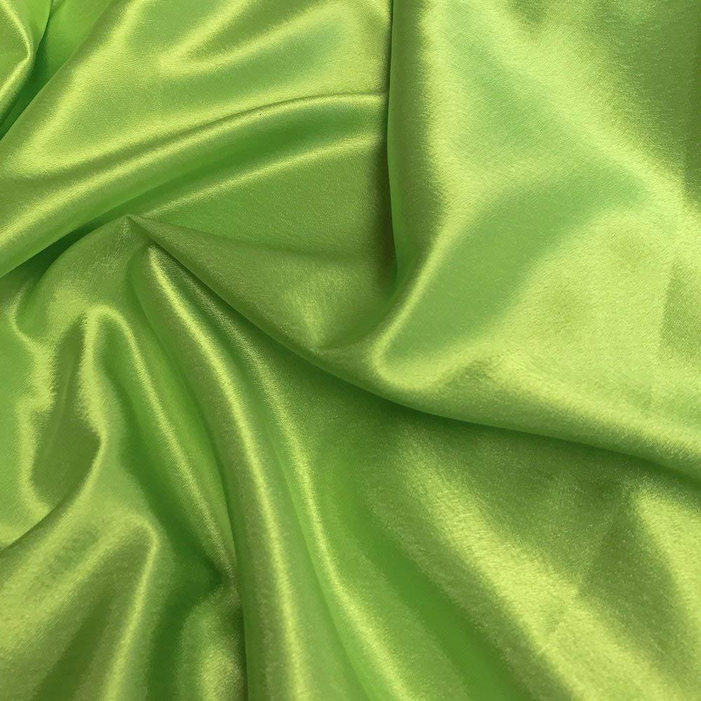 32f92a40b5956 Get Quotations · Crepe Back Satin Bridal Fabric Drapery Soft 60