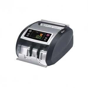 Two Display Bill Detector Good Quality Auto Money Counting Machine with UV MG DD