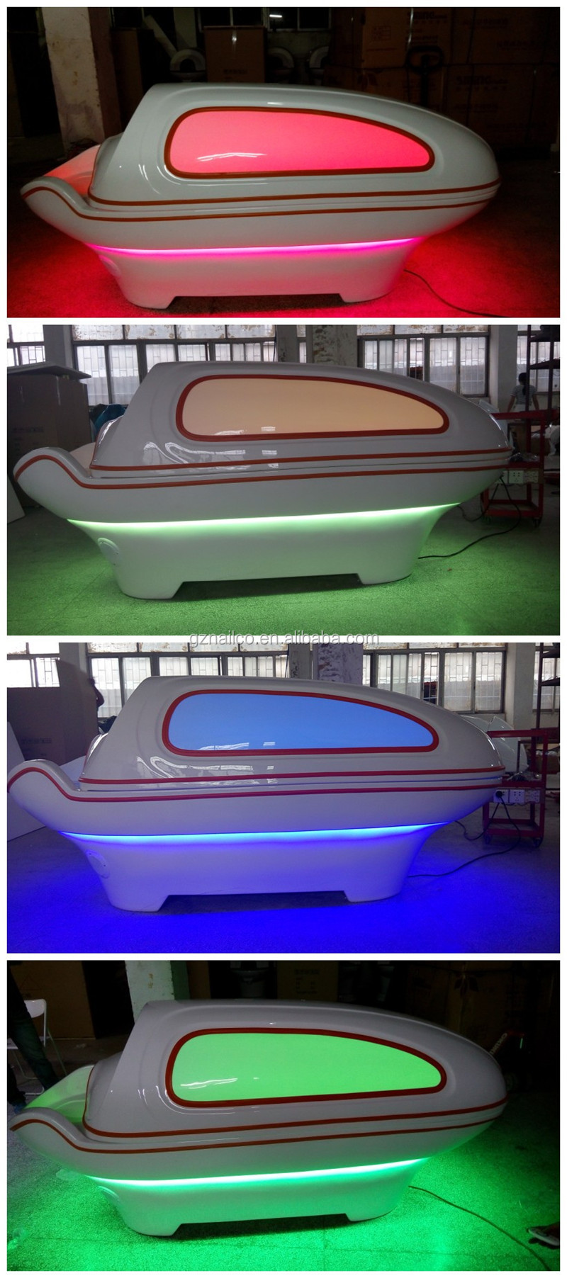 Professional Far Infrared Sauna Equipment/ Led Light Therapy Bed ...