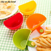 plastic dip clips kitchen bowl small dishes spice clip for tomato sauce salt vinegar sugar flavor spices