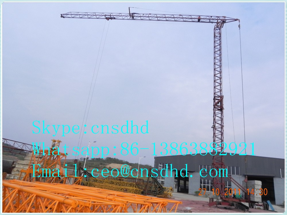2ton Mini Tower Crane For Sale