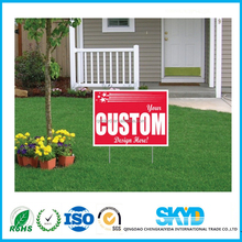 custom print outdoor use construction signs board
