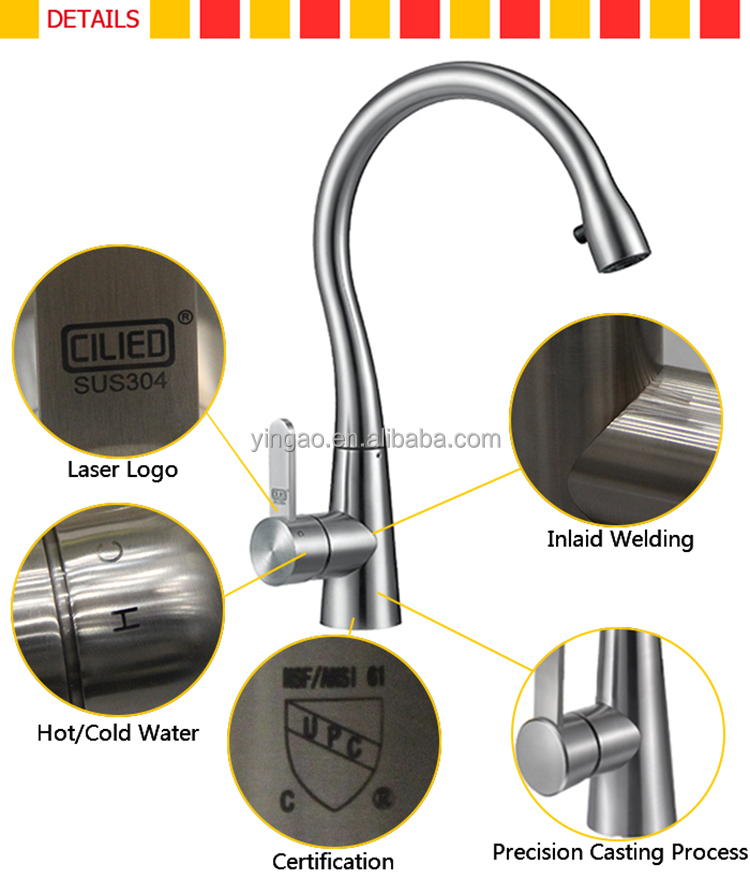 C07S Most durable flexible hose for peerless kitchen faucet repair