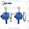 best quality manual worm gear actuator jtc2.5-jtc200 hand operated leveling jacks and wheel crank handles screw jack