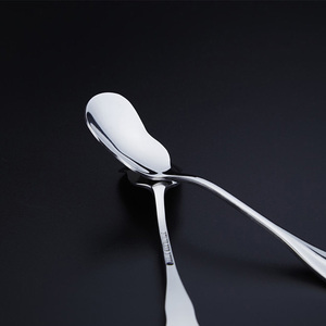 Two Types of Stainless Steel Honey Spoon in Fancy Design for Choosing