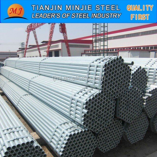 1/2''----16'' galvanized steel pipe/ERW pipe madie in Tianjin