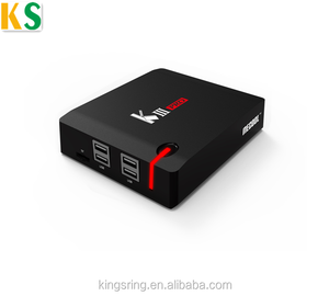 Hotsale MECOOL KIII Pro Amlogic S912 Hybrid TV Box DVB S2- T2 4K Satellite  Receiver 2 4G+5G Dual Band WiFi BT 4 0 Set Top Box