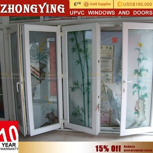 Wales Offer Second Hand Balcony Sliding Pvc Doors Pvc Plastic Louver Folding Accordion Doors Best Price