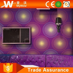 China 3D Wall Paper Supplier Best Price Wallpaper Rolls for Restaurant