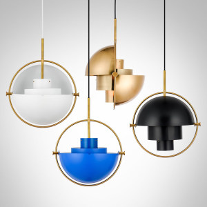 Post modern personality metal ball shape modern fancy chandelier for decoration