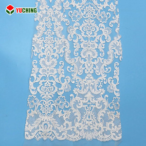 Custom cotton wedding dress lace/wedding lace fabric/lace fabric for wedding dress