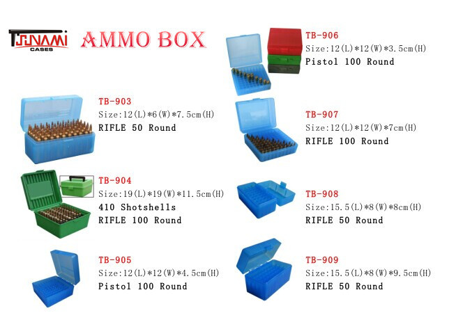 Military Outdoor Plastic Waterproof Ammo Can Storage Box For Bullet(TB-907)