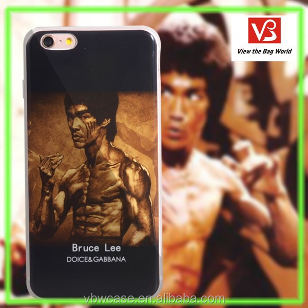 2016 specially degsign bruce lee strong mobile phone case cellphone cover