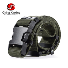 Army Belt Military Custom Color Camouflage Canvas Belt OEM Factory Sale