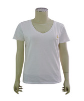 New Design Ladies Tshirts Single Jersey Supreme Cotton T-shirt