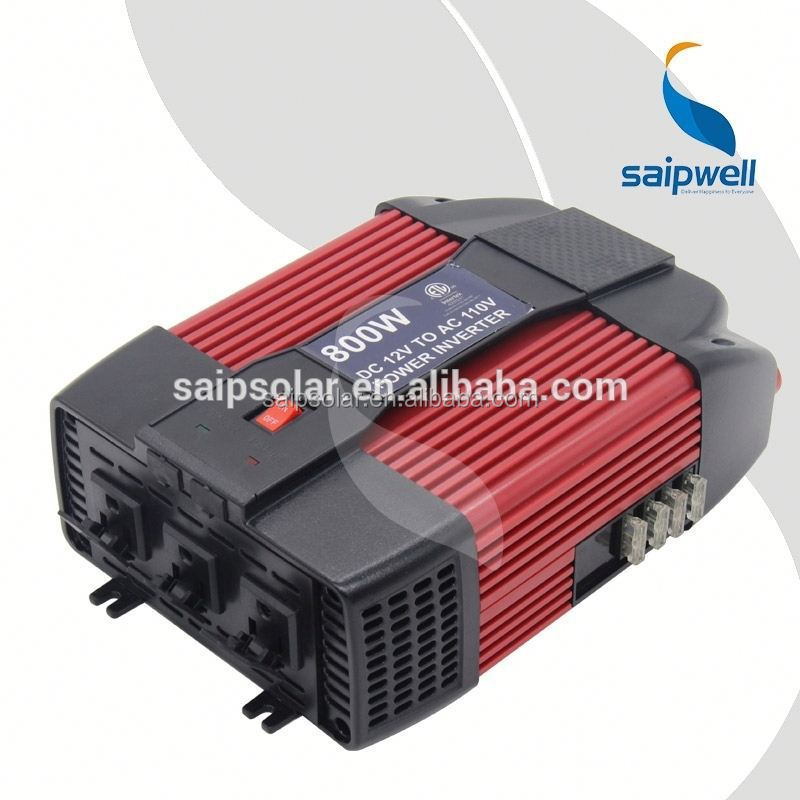 Saip/Saipwell SP8129U 800W DC12V/24V AC100V-120V inverters with battery back up