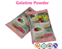 Halal Gelatin Powder Family Packing Natural Products Made in China 50g